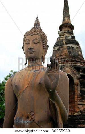 Sukhothai Standing Buddah