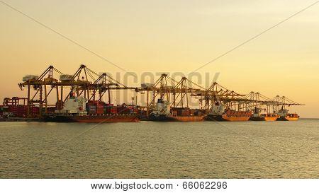 Port Laem Chabang, Thailand