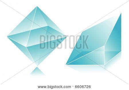 Blue figures