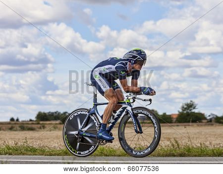 The Cyclist Vasili Kiryienka