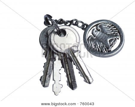 Keys with pendant