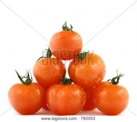 Fresh Tomatoes' Pyramid