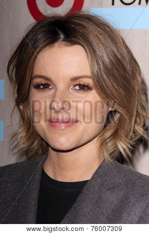 LOS ANGELES - NOV 12:  Ali Fedotowsky at the TOMS for Target Holiday Partnership at the The Bookbindery on November 12, 2014 in Culver City, CA