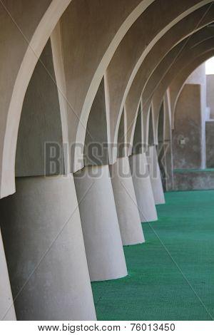 Al Samooda Mosque, Architectural detail
