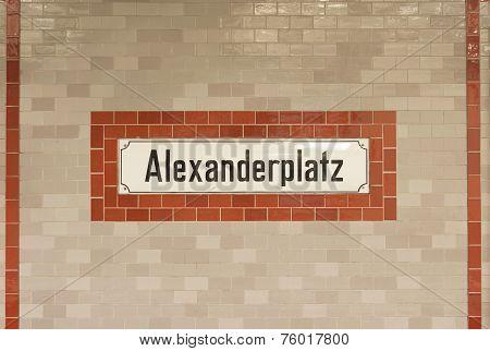 Berlin Subway Station