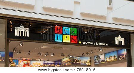 Berlin Souvenir Shop