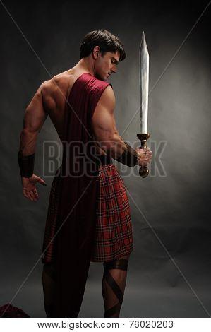muscular highlander