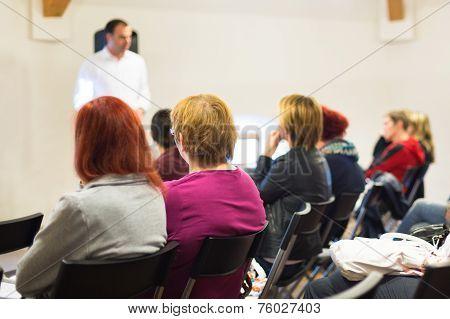 Speaker at Business Workshop.