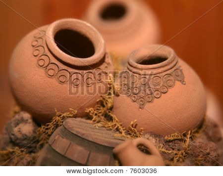 Miniature Armenian jugs