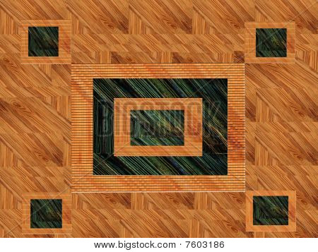Wood Abstract Design
