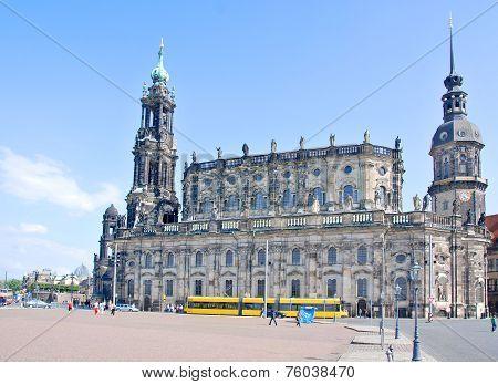 The Hofkirche Dresden