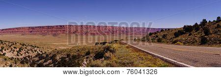 Panorama Of  Vermillion Cliffs