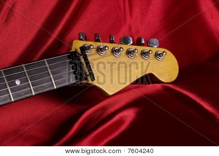 Guitar Head Close-up