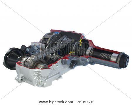car parts: Transfer case - electric shift