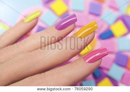 Solar nails.