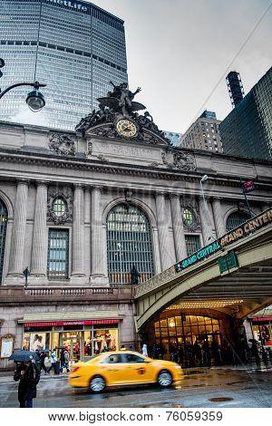 Grand Central Terminal. Manhattan, New York City.