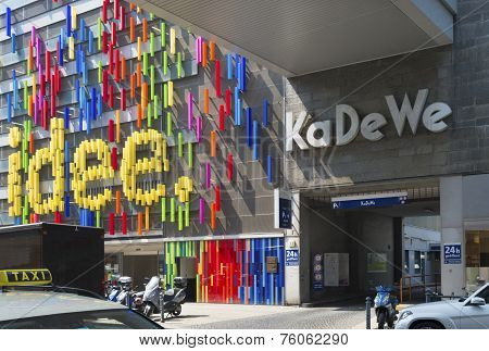 Shopping Mall In Berlin