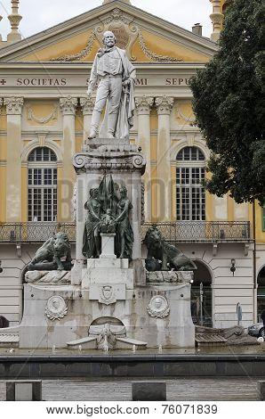Statue Of Garibaldi