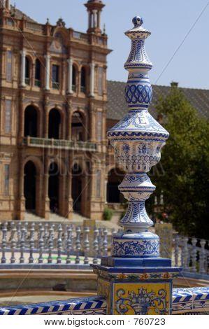 Ceramics Of Plaza De Espa–a