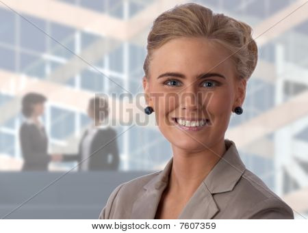 Beautiful, Young Businesswoman