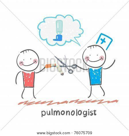 pulmonologist