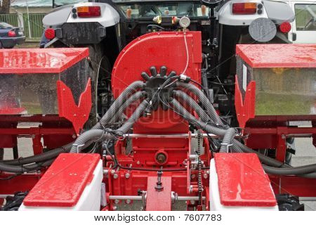 Tractor With Plow
