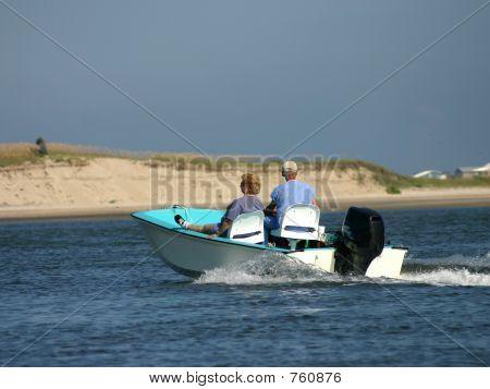seniors boating