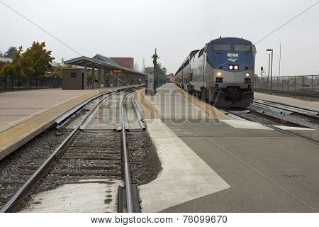 Amtrak Departing