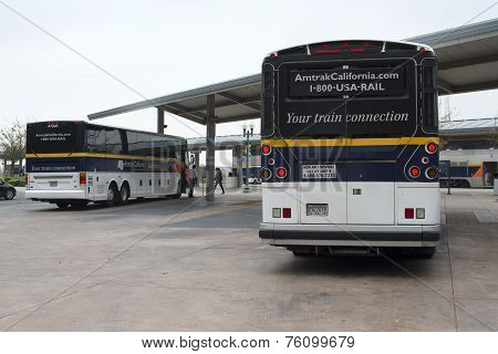 Amtrak Buses