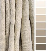 old linen ancient fabric color chart selection complimentary poster