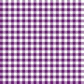 endless Checkered Table cloths Pattern colored Purple poster