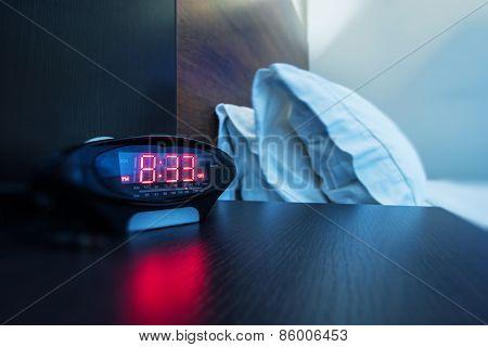 Hotel Room Alarm Clock