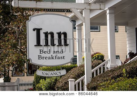 sign for an inn