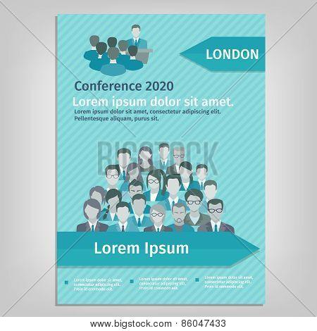 Brochure Conference Illustration