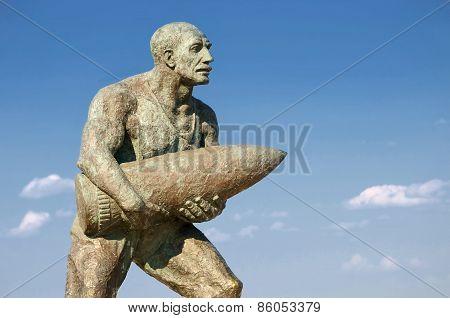 Statue Of Corporal Seyit, Canakkale, Turkey
