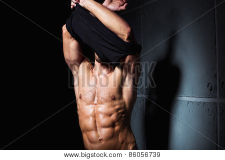 Striptease By Young Sexy Man