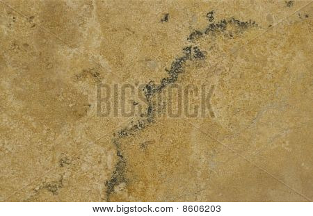 Surface Of The Travertine. Tints Of Brown And Beige.