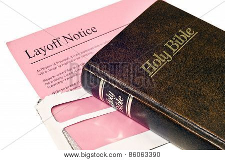 Layoff Notice With Bible