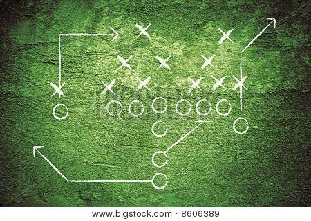 Grunge Football Play