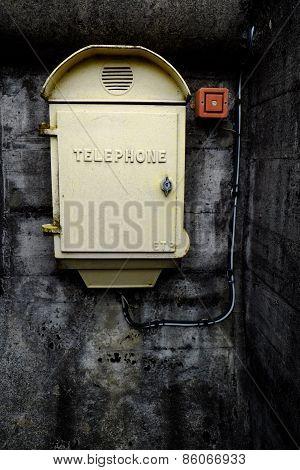 Telephone Box With Lock