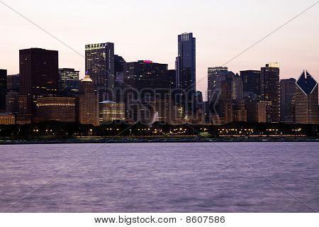 Getting Dark  In Chicago