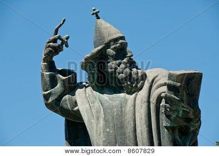 Statue Of Gregorius Of Nin,