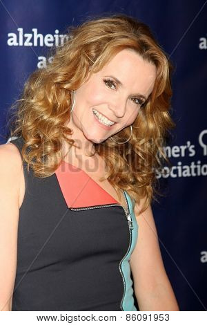 LOS ANGELES - MAR 18:  Lea Thompson at the 23rd Annual A Night at Sardi's to benefit the Alzheimer's Association at the Beverly Hilton Hotel on March 18, 2015 in Beverly Hills, CA