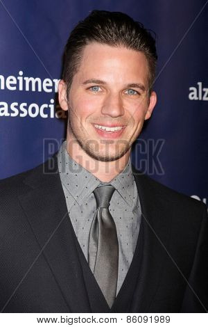 LOS ANGELES - MAR 18:  Matt Lanter at the 23rd Annual A Night at Sardi's to benefit the Alzheimer's Association at the Beverly Hilton Hotel on March 18, 2015 in Beverly Hills, CA