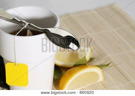 morning tea closeup