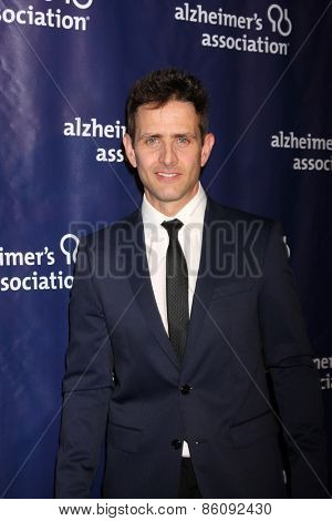 LOS ANGELES - MAR 18:  Joey McIntyre at the 23rd Annual A Night at Sardi's to benefit the Alzheimer's Association at the Beverly Hilton Hotel on March 18, 2015 in Beverly Hills, CA
