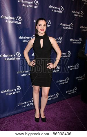 LOS ANGELES - MAR 18:  Vanessa Marano at the 23rd Annual A Night at Sardi's to benefit the Alzheimer's Association at the Beverly Hilton Hotel on March 18, 2015 in Beverly Hills, CA