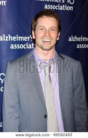 LOS ANGELES - MAR 18:  Tyler Ritter at the 23rd Annual A Night at Sardi's to benefit the Alzheimer's Association at the Beverly Hilton Hotel on March 18, 2015 in Beverly Hills, CA