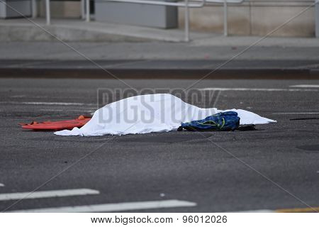 Body of slain cyclist