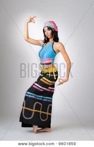 China Girl Dancing
